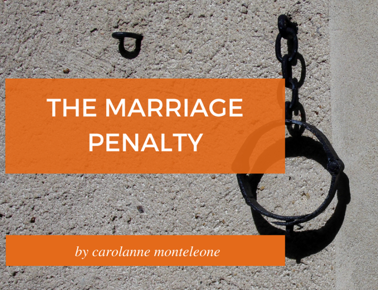 the marriage penalty