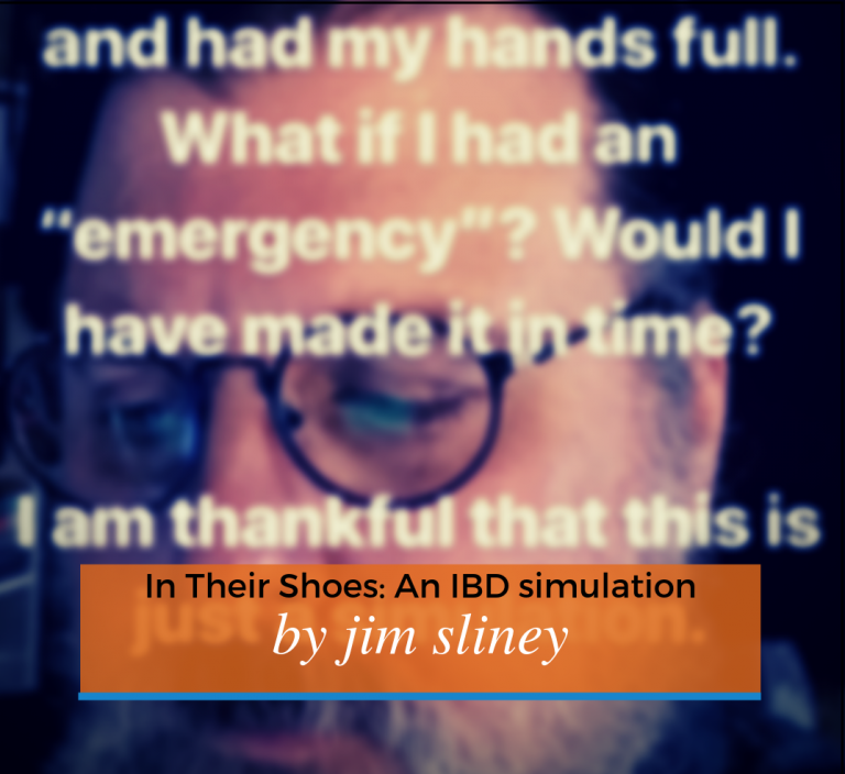 In Their Shoes: IBD