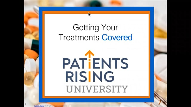 get your treatments covered
