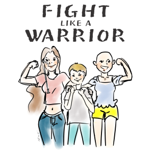Fight Like a Warrior logo