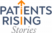 Patients Rising Stories logo